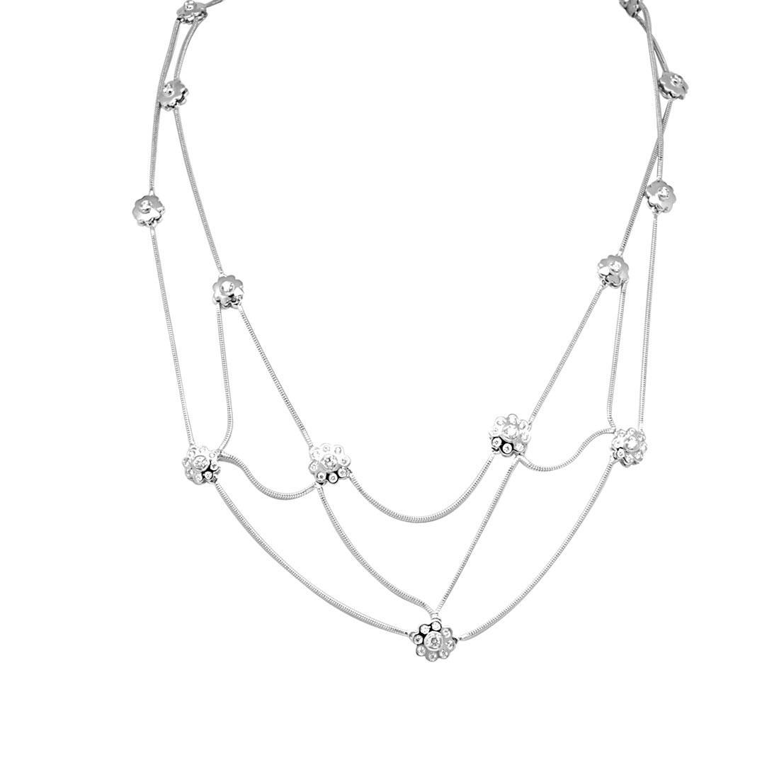nuovi stili 9ca13 bf0fa Collana Damiani in oro bianco con diamante ct 0,67